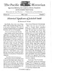 The Pacific Historian, Volume 02, Number 2 (1958)