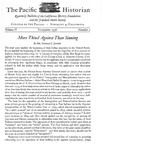 The Pacific Historian, Volume 02, Number 4 (1958)