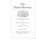 The Pacific Historian, Volume 08, Number 3 (1964)
