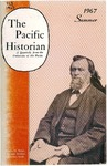 The Pacific Historian, Volume 11, Number 3 (1967)