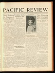 Pacific Review April 1930