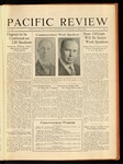 Pacific Review May 1930