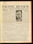 Pacific Review October 1930
