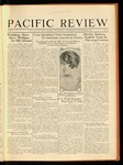 Pacific Review November 1930 by Pacific Alumni Association