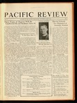 Pacific Review May 1931