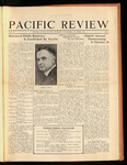 Pacific Review October 1931 by Pacific Alumni Association