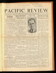 Pacific Review March 1932 by Pacific Alumni Association