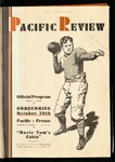 Pacific Review October 1932 (Homecoming Issue)