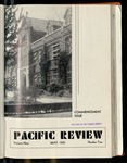 Pacific Review May 1935 (Commencement Issue) by Pacific Alumni Association