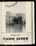 Pacific Review July 1935 (Summer Issue) by Pacific Alumni Association