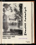 Pacific Review October 1935 (Homecoming Issue)