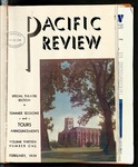 Pacific Review Feburary 1939 by Pacific Alumni Association