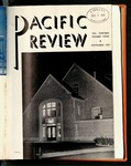 Pacific Review November 1939 by Pacific Alumni Association