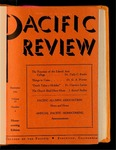 Pacific Review September 1941 (Homecoming Issue)