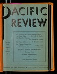 Pacific Review November 1941 by Pacific Alumni Association
