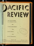 Pacific Review August 1945 by Pacific Alumni Association