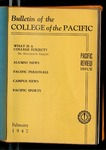 Pacific Review February 1947 (Bulletin of the College of the Pacific) by Pacific Alumni Association