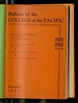 Pacific Review December 1947 (Bulletin of the College of the Pacific) by Pacific Alumni Association