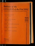 Pacific Review Feburary 1948 (Bulletin of the College of the Pacific) by Pacific Alumni Association