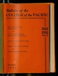 Pacific Review October 1948 (Bulletin of the College of the Pacific) by Pacific Alumni Association
