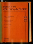 Pacific Review Feburary 1949 (Bulletin of the College of the Pacific) by Pacific Alumni Association