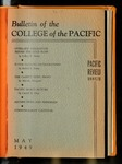 Pacific Review May 1949  (Bulletin of the College of the Pacific)