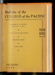 Pacific Review December 1949 (Bulletin of the College of the Pacific) by Pacific Alumni Association