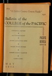 Pacific Review May 1950 (Bulletin of the College of the Pacific) by Pacific Alumni Association