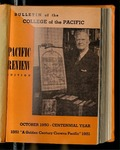 Pacific Review October 1950 (Bulletin of the College of the Pacific)