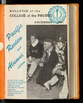 Pacific Review December 1951 (Bulletin of the College of the Pacific) by Pacific Alumni Association