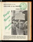 Pacific Review February 1952 (Bulletin of the College of the Pacific)