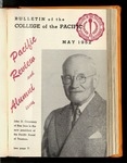 Pacific Review May 1952 (Bulletin of the College of the Pacific)