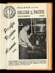 Pacific Review December 1952 (Bulletin of the College of the Pacific)