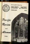 Pacific Review February 1953 (Bulletin of the College of the Pacific)