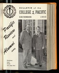 Pacific Review December 1953 (Bulletin of the College of the Pacific)