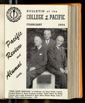 Pacific Review February 1954 (Bulletin of the College of the Pacific)