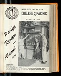Pacific Review October 1954 (Bulletin of the College of the Pacific)