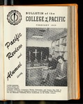 Pacific Review February 1955 (Bulletin of the College of the Pacific)