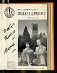 Pacific Review October 1955 (Bulletin of the College of the Pacific)
