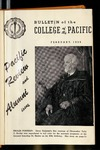 Pacific Review February 1956 (Bulletin of the College of the Pacific)