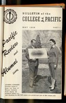Pacific Review May 1956 Part I (Bulletin of the College of the Pacific) by Pacific Alumni Association