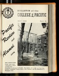 Pacific Review May 1956 Part II (Bulletin of the College of the Pacific) by Pacific Alumni Association