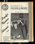 Pacific Review October 1956  (Bulletin of the College of the Pacific)