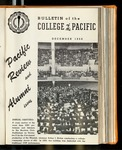 Pacific Review December 1956 (Bulletin of the College of the Pacific)