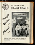 Pacific Review October 1957 (Bulletin of the College of the Pacific) by Pacific Alumni Association