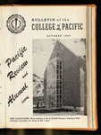 Pacific Review October 1958 (Bulletin of the College of the Pacific)