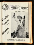 Pacific Review December 1958 (Bulletin of the College of the Pacific) by Pacific Alumni Association