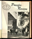 Pacific Review October 1959 (Bulletin of the College of the Pacific)