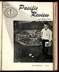 Pacific Review November 1959 (Bulletin of the College of the Pacific)