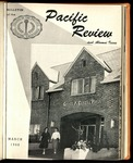 Pacific Review March 1960 (Bulletin of the College of the Pacific)